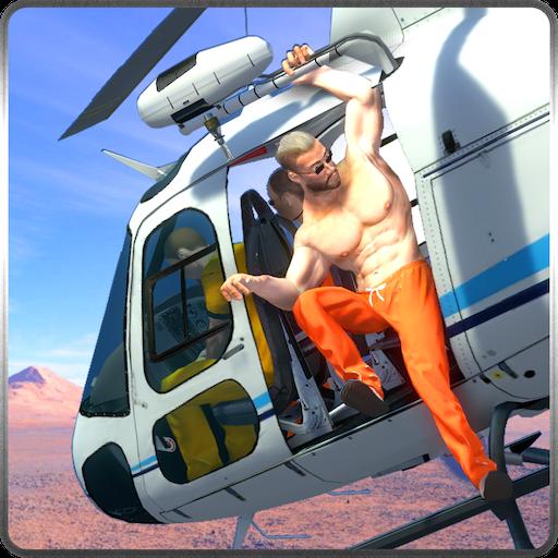 模拟のNY警察ヘリ刑務所エスケープ LOGO-記事Game
