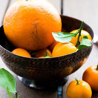 Orange & Kamquat Gluten Free Cake.