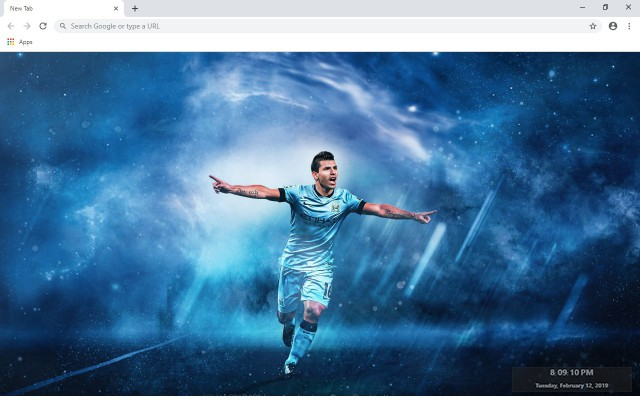 Manchester City New Tab
