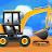 Construction Vehicles & Trucks - Games for Kids logo