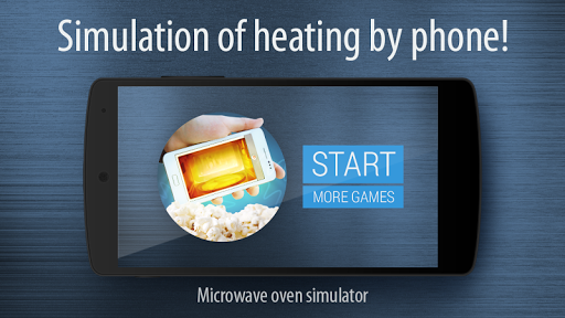 Microwave oven simulator