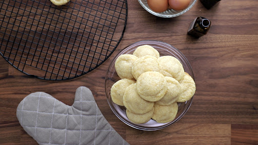 """Soft and Chewy Keto """"Sugar"""" Cookies"""
