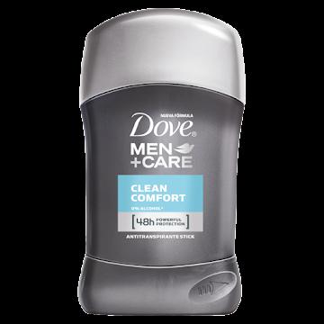 Desodorante DOVE Men   +Care Clean Comfort 48H x50g