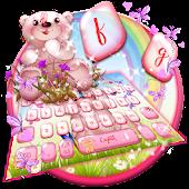 Tải Cute Bear Rainbow Keyboard miễn phí