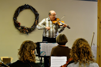 Photo: Master class with Dr. Peter Rolland