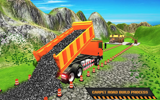 Highway Construction Road Builder 2019- Free Games 2 screenshots 8