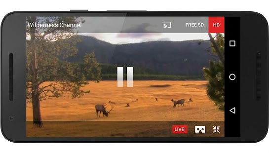 FilmOn EU Live TV Chromecast- screenshot thumbnail