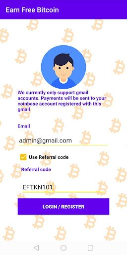 Free Crypto Tokens BTC  screenshots 1