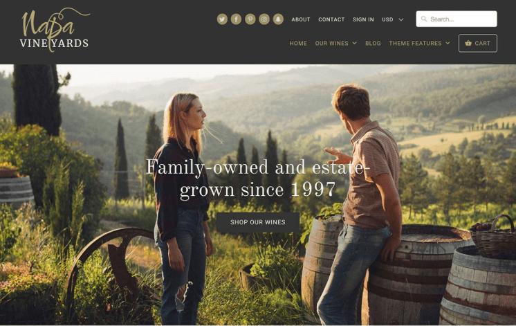 Mobilia - premium Shopify theme