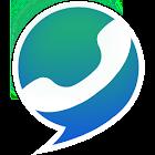 Llamadas y textos sobre WiFi icon