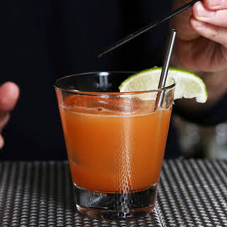 The Torchlight (Tequila Hot Sauce Cocktail).