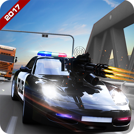 Police Shooting Road Chase (game)