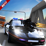 Police Shooting Road Chase Icon