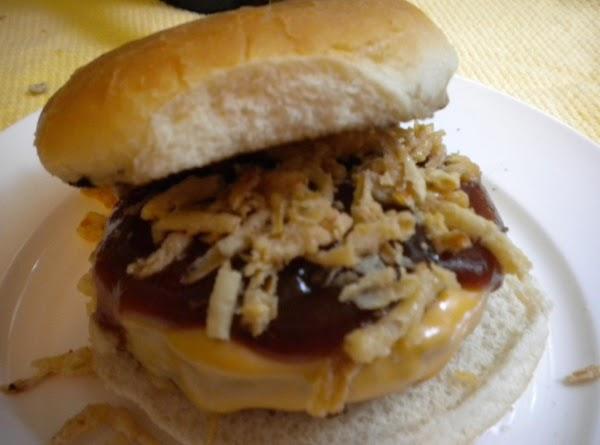 Bbq Burger W/ Tanglers Recipe