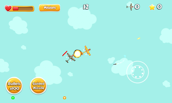 AirRush : Missiles War - screenshot