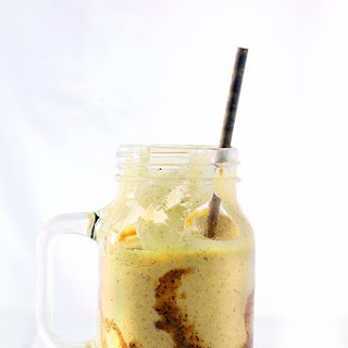 Mango Almond Butter Smoothie