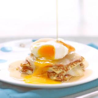 Keto Monte Cristo Breakfast Casserole.