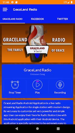 GraceLand Radio screenshot 2