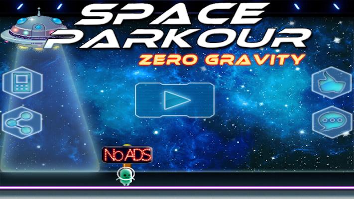 Space Parkour: Portal Run - screenshot