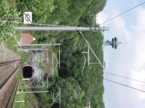 Photo: De tunnel onder het drielandenpunt door, met de Julianatoren.