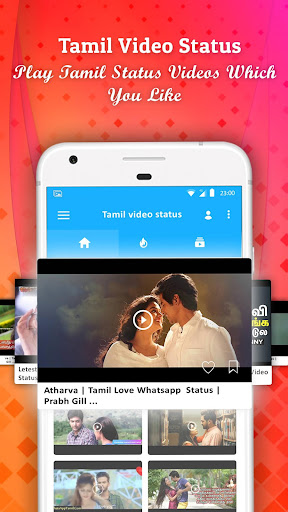 Tamil Video Songs Status For whatsapp 2.5 screenshots 4