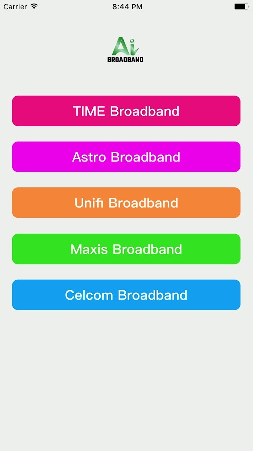 Ai Broadband- screenshot
