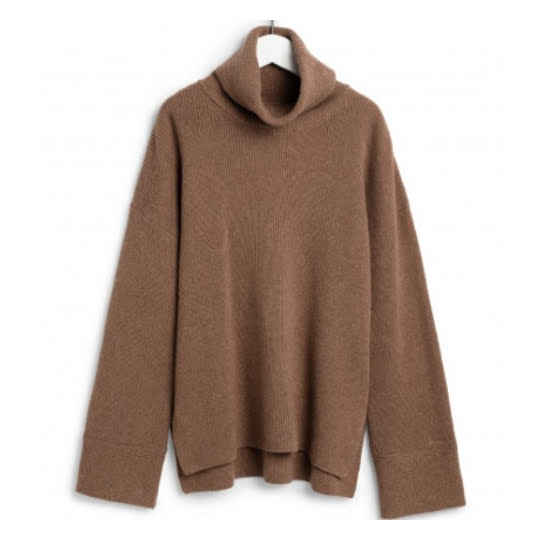 GANT D2 Soft Wool Turtleneck Beach Sand Mel.  Strl  M