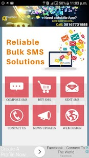PaceSMS - Reliable Bulk SMS in Nigeria- screenshot thumbnail