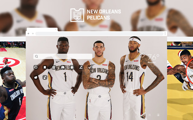 New Orleans Pelicans HD Wallpapers New Tab