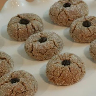 Almond Coffee Cookies.