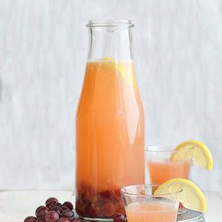 Roasted Grape Lemonade.