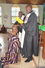 Photo: Preciding Pastors performing ceremony