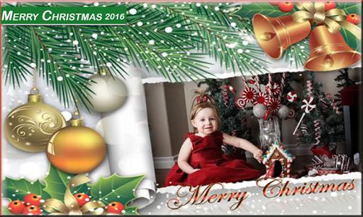 圣诞相框2016年