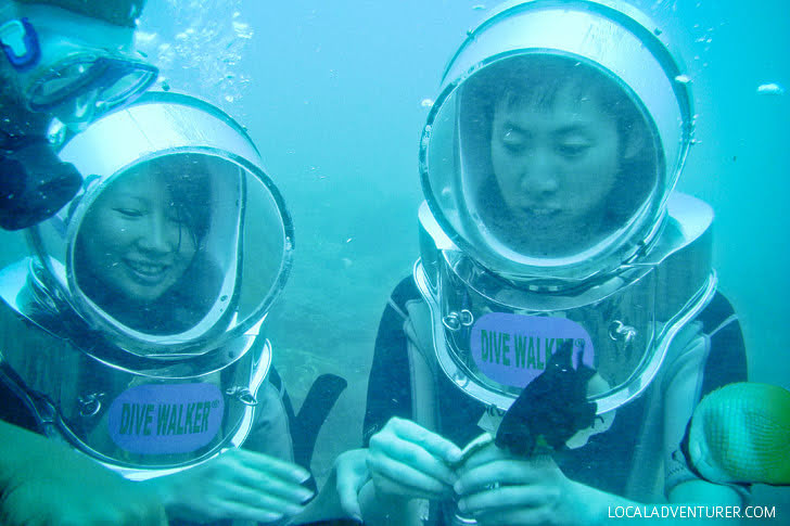 Helmet Diving Indonesia (Bali Things to Do).