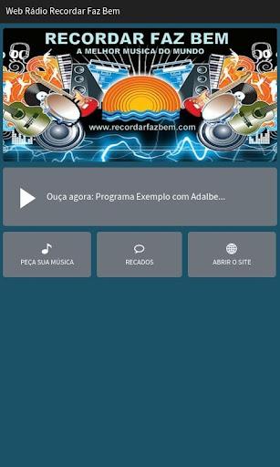 Web Rádio Recordar Faz Bem