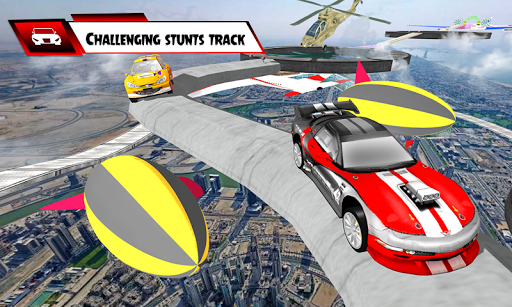 Us Extreme GT Mega Ramps Crazy Car Stunts Racing  captures d'écran 2
