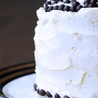 Mini White Chocolate Birthday Cake.