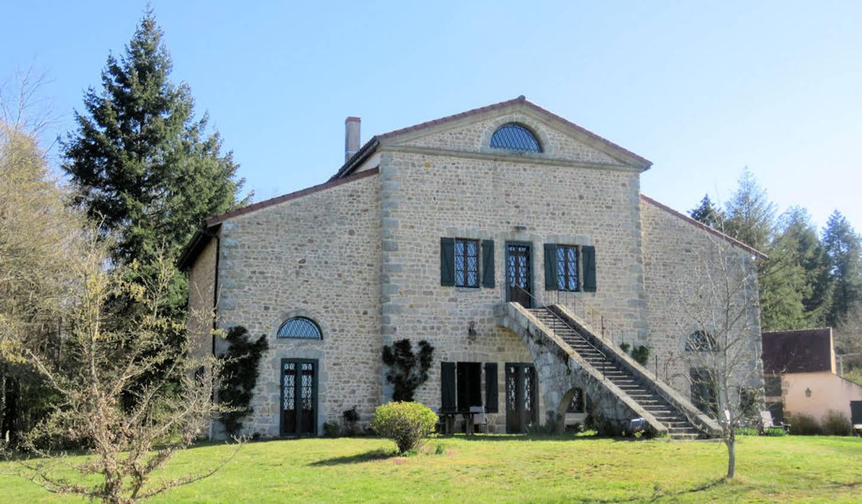 Propriété avec piscine et jardin Toulon-sur-Arroux