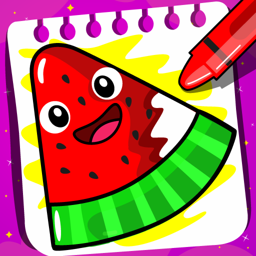 Fruits Coloring Book Food Drawing Book Kids Free Google Play