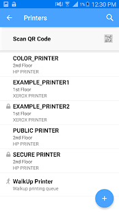 Micro Focus iPrint – Miniaturansicht des Screenshots