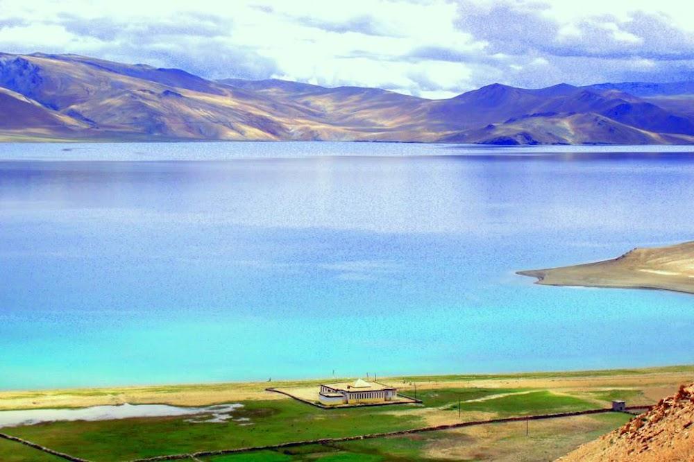 leh ladakh tso moriri lake at korzok_image