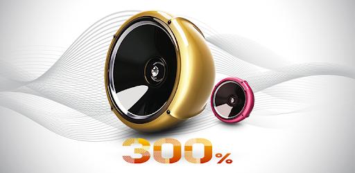 300% high volume booster : Super Loud Speaker on Windows PC Download