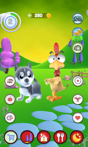 Talking Puppy And Chick  screenshots 2