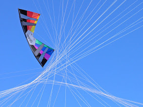 Photo: 40 Crossed Lines (Mid Vent Rev in Kite Connection Colors)