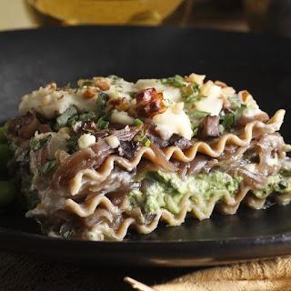 Caramelized Onion Lasagna.