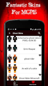 Descargar La Última Versión De La Aplicación Pieles Fantasmas Para - Skins para minecraft pe fantasma