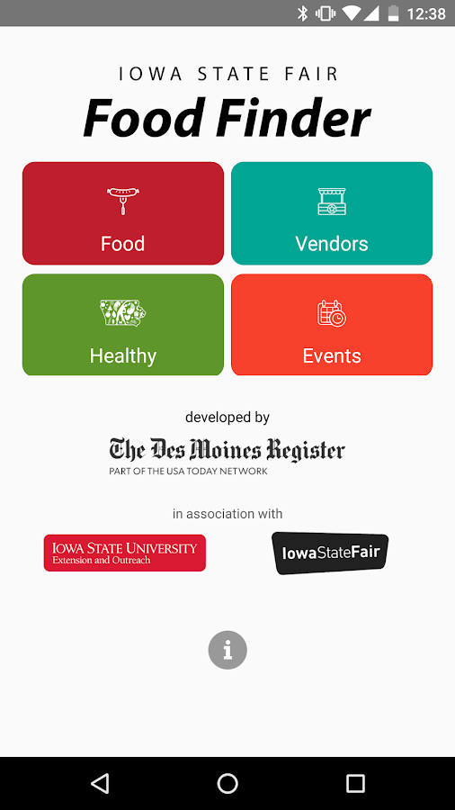 Iowa State Fair Food Finder- screenshot