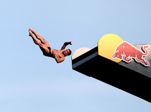Photo: Red Bull Cliff Diving Boston 2012