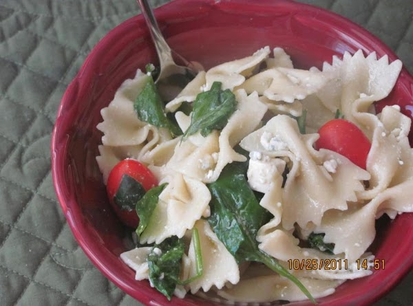 Spinach Bow Tie Pasta Salad Recipe