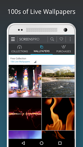 HD Video Live Wallpapers 4.8 screenshots 1